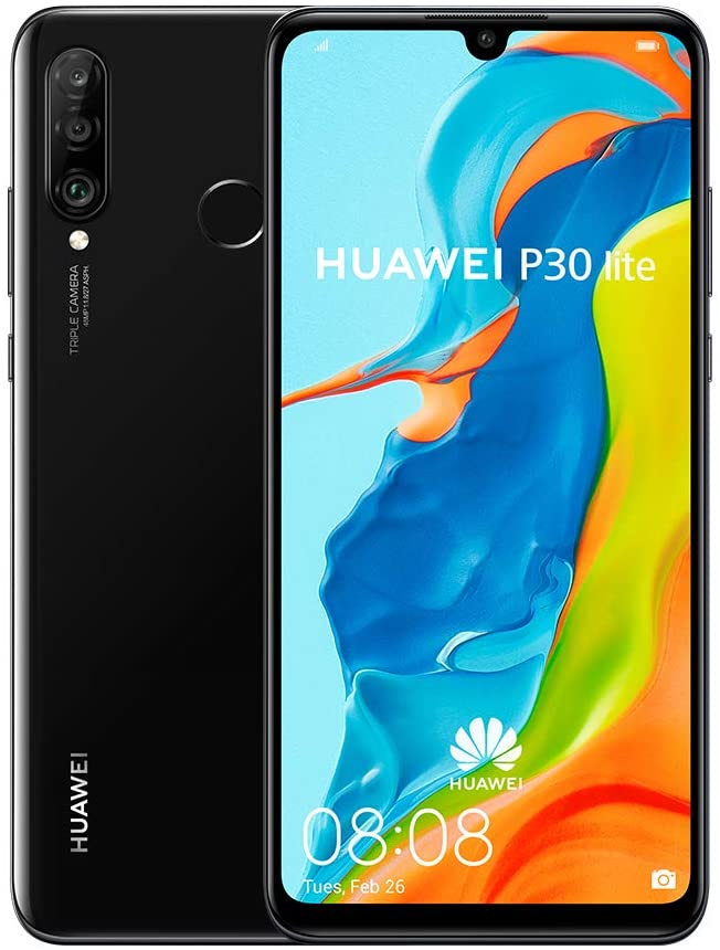 Huawei P30 Lite (128GB, 4GB RAM) 6.15 inches Display (Factory Unlocked)
