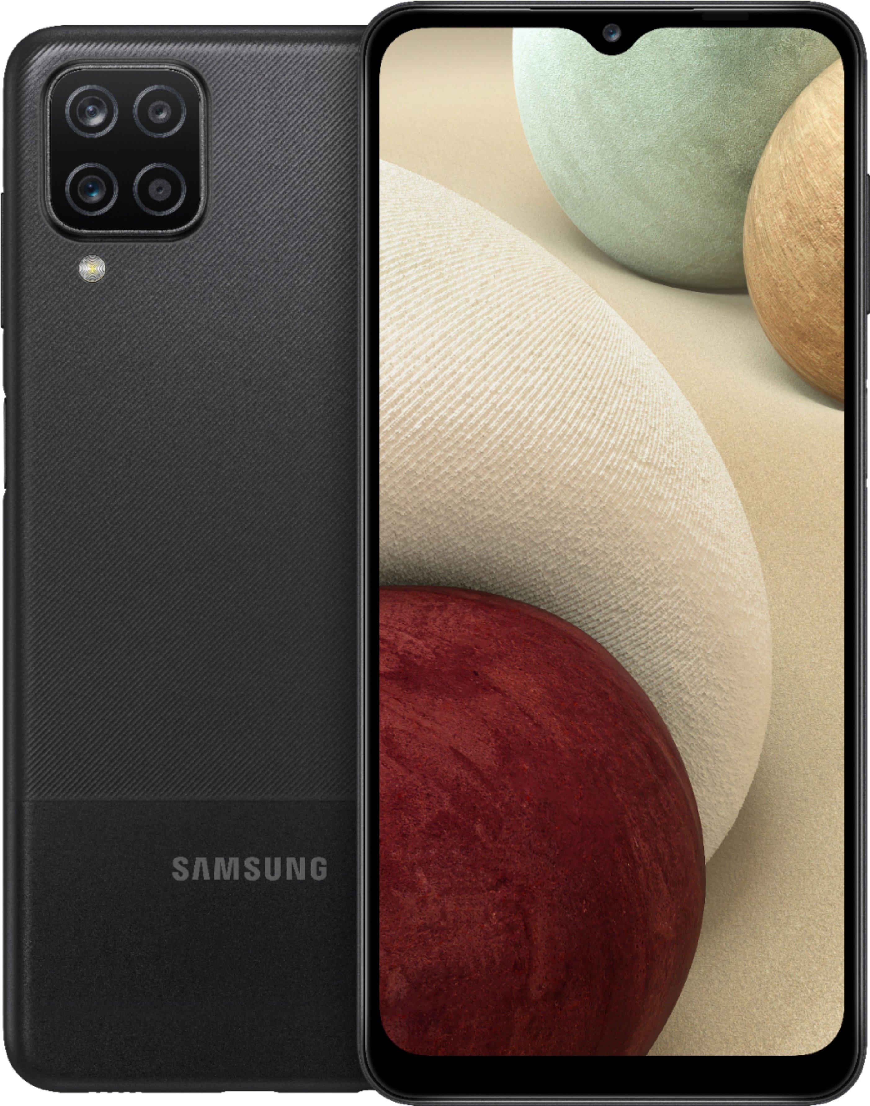 Samsung - Galaxy A12 32GB(Unlocked) - Black