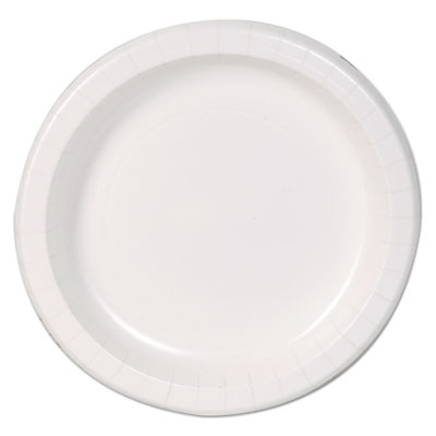 Dixie Paper Dinnerware, Plates, White, 8.5