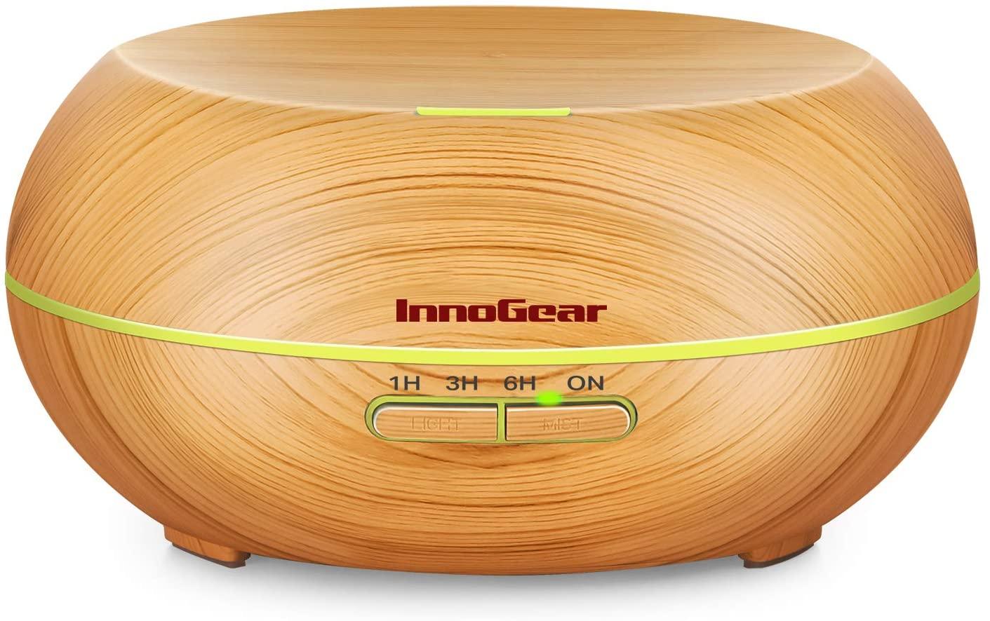 InnoGear Diffusers for Essential Oils, Wood Grain