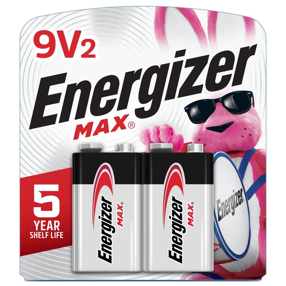Energizer MAX Alkaline 9V...