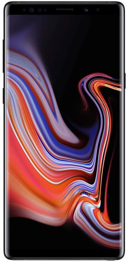 Samsung Galaxy Note 9, 128GB, Midnight Black (Unlocked)