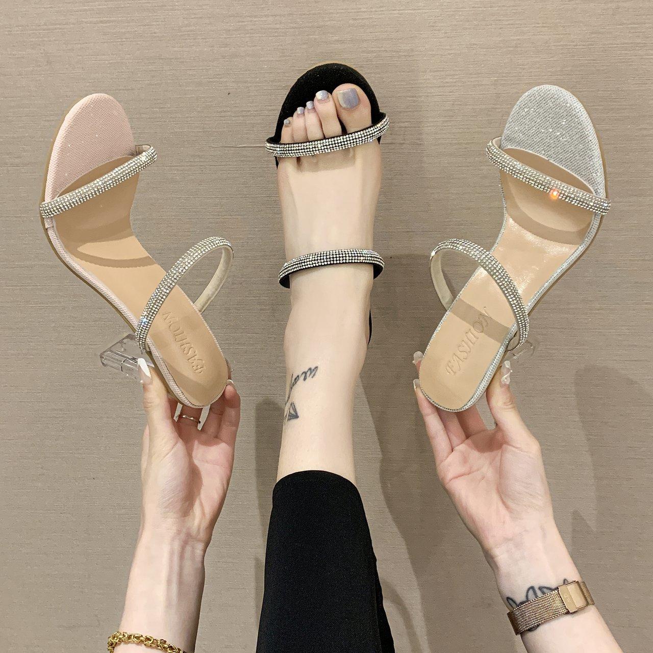 Reinstone heels
