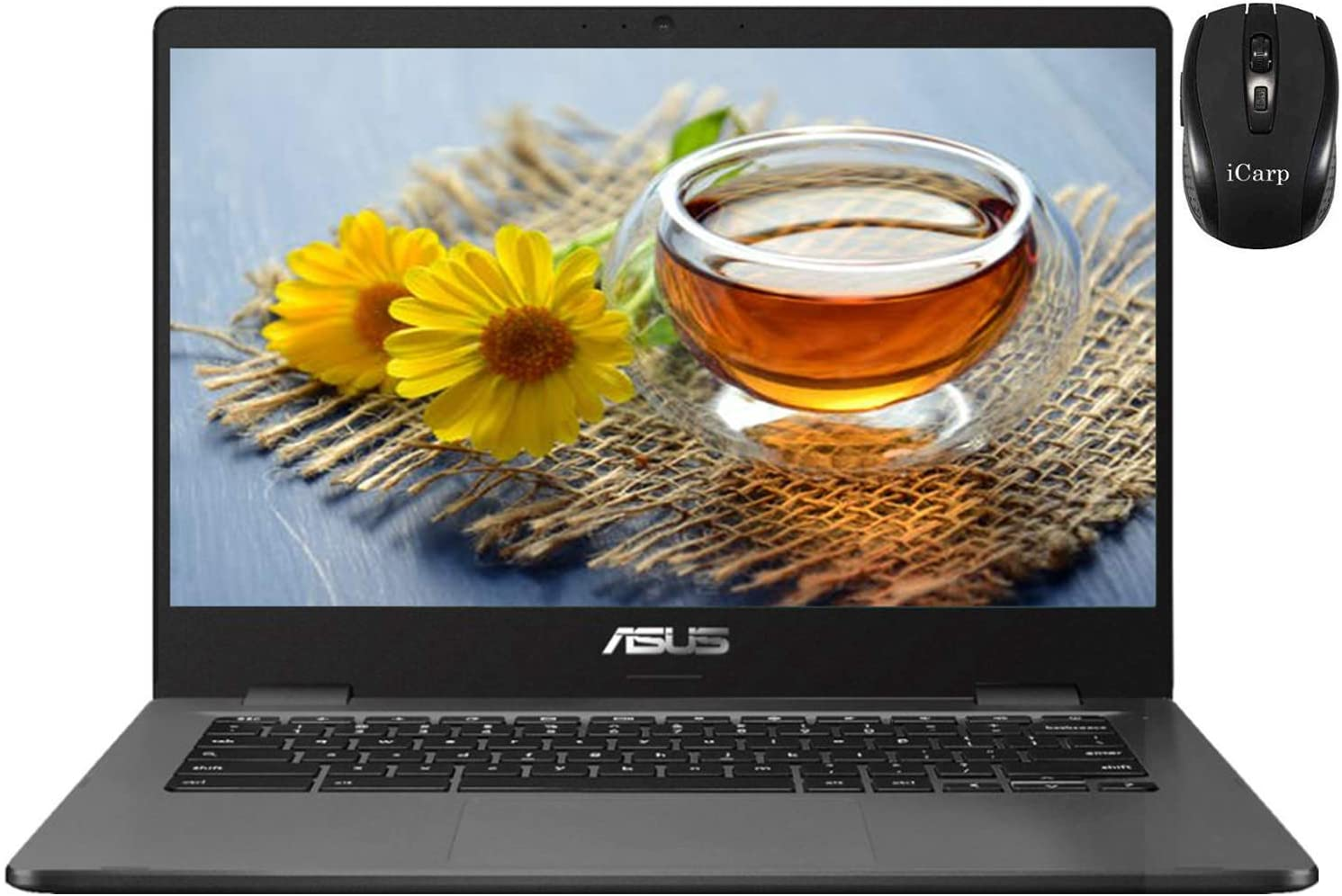 Flagship 2020 ASUS Chromebook 14 Thin Light Weight Laptop 14