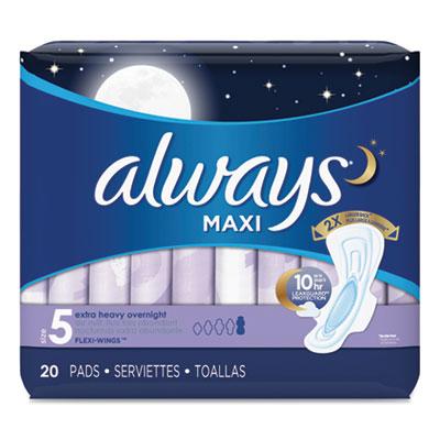 Always Maxi Pads, Extra H...