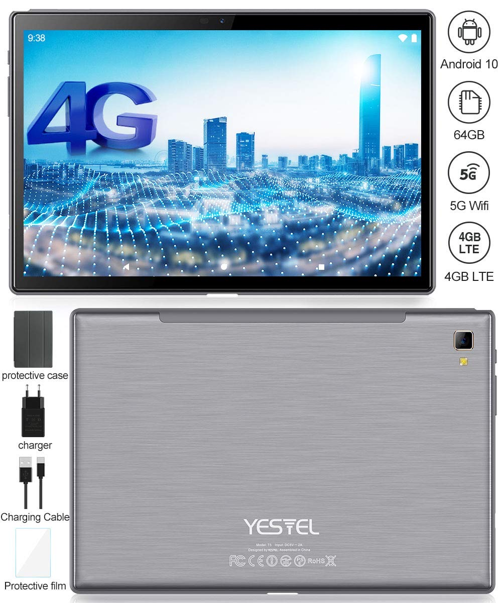 YESTEL Newest Android 10.0 Tablet