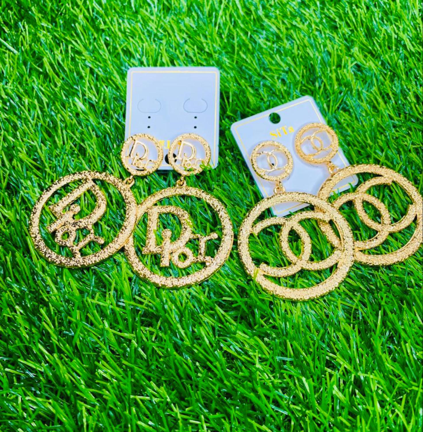 Dior Earrings / Channel Earrings