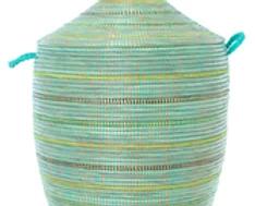 Large Seaside Stripes Lau...