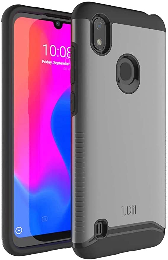 TUDIA Merge, Dual Layer Case Designed for Visible ZTE Blade A7