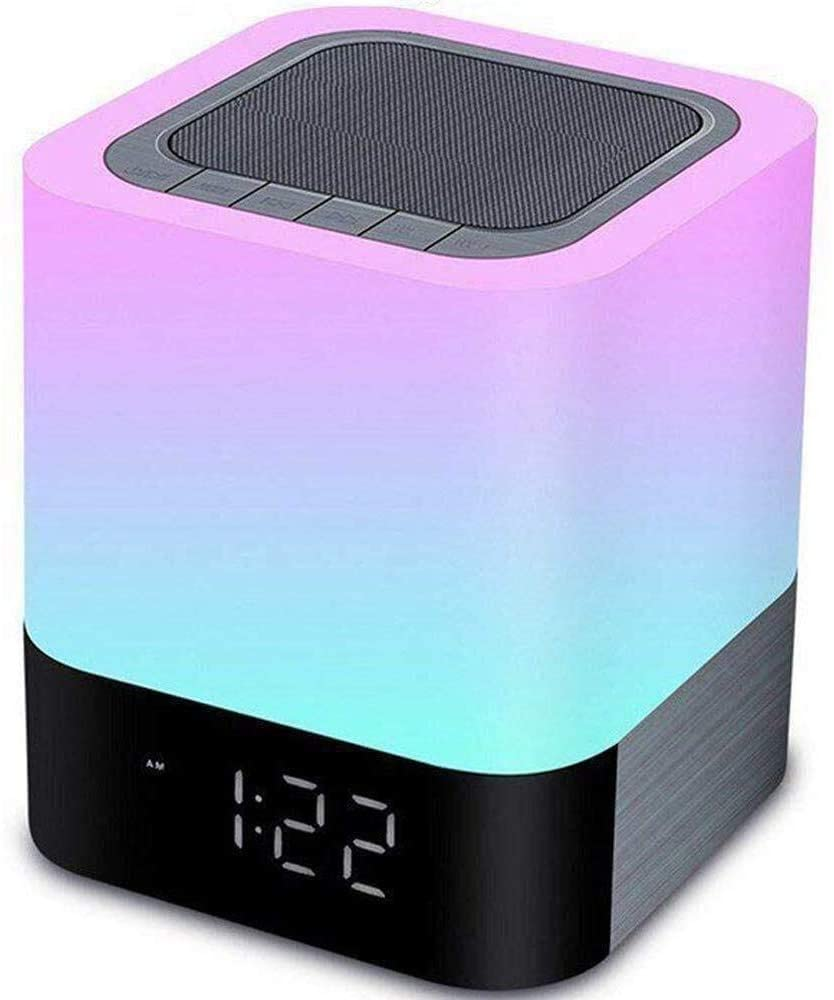 Aisuo Night Light - 5 in 1 Lamp with Bluetooth Speaker