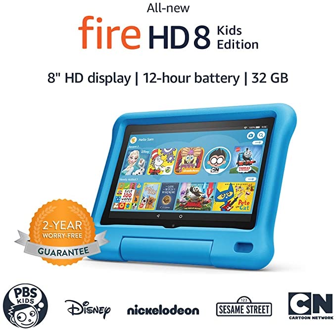 All-new Fire HD 8 Kids Ed...
