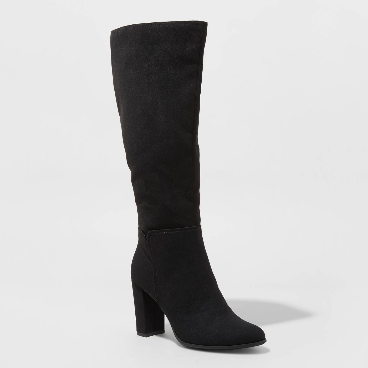 Women's Brandee Knee High Heeled Fashion Boots - A New Day