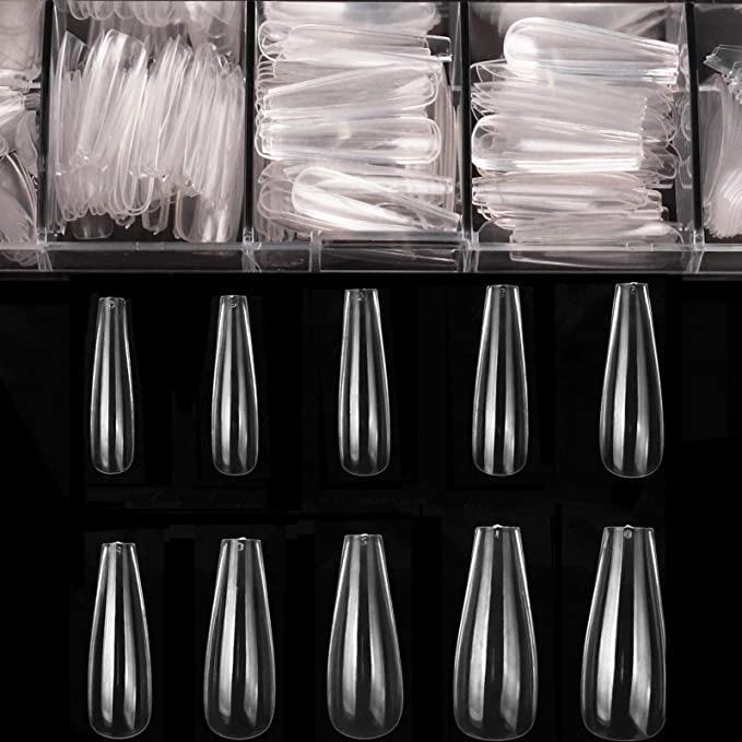 Coffin Nails Long Fake Nails