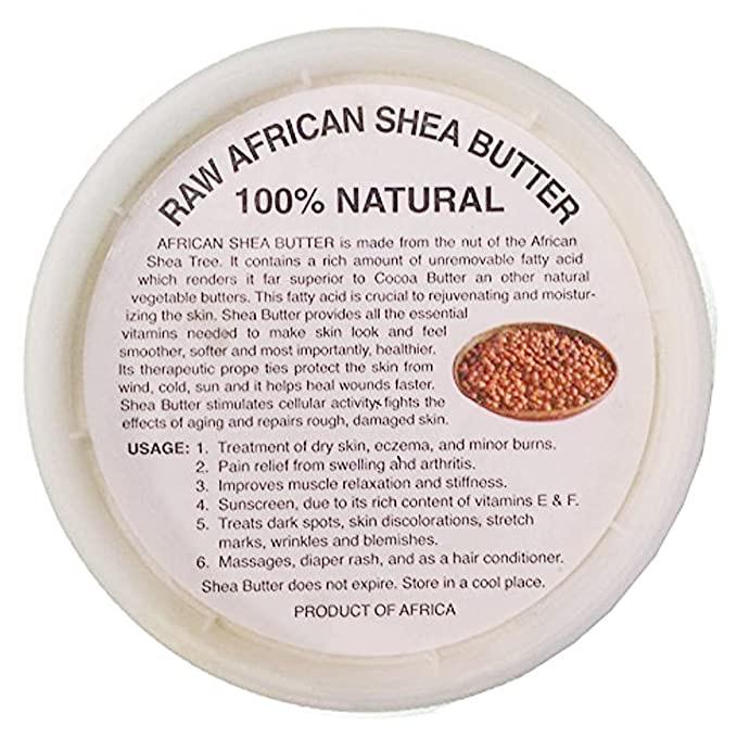 Raw African Shea Butter 16 oz