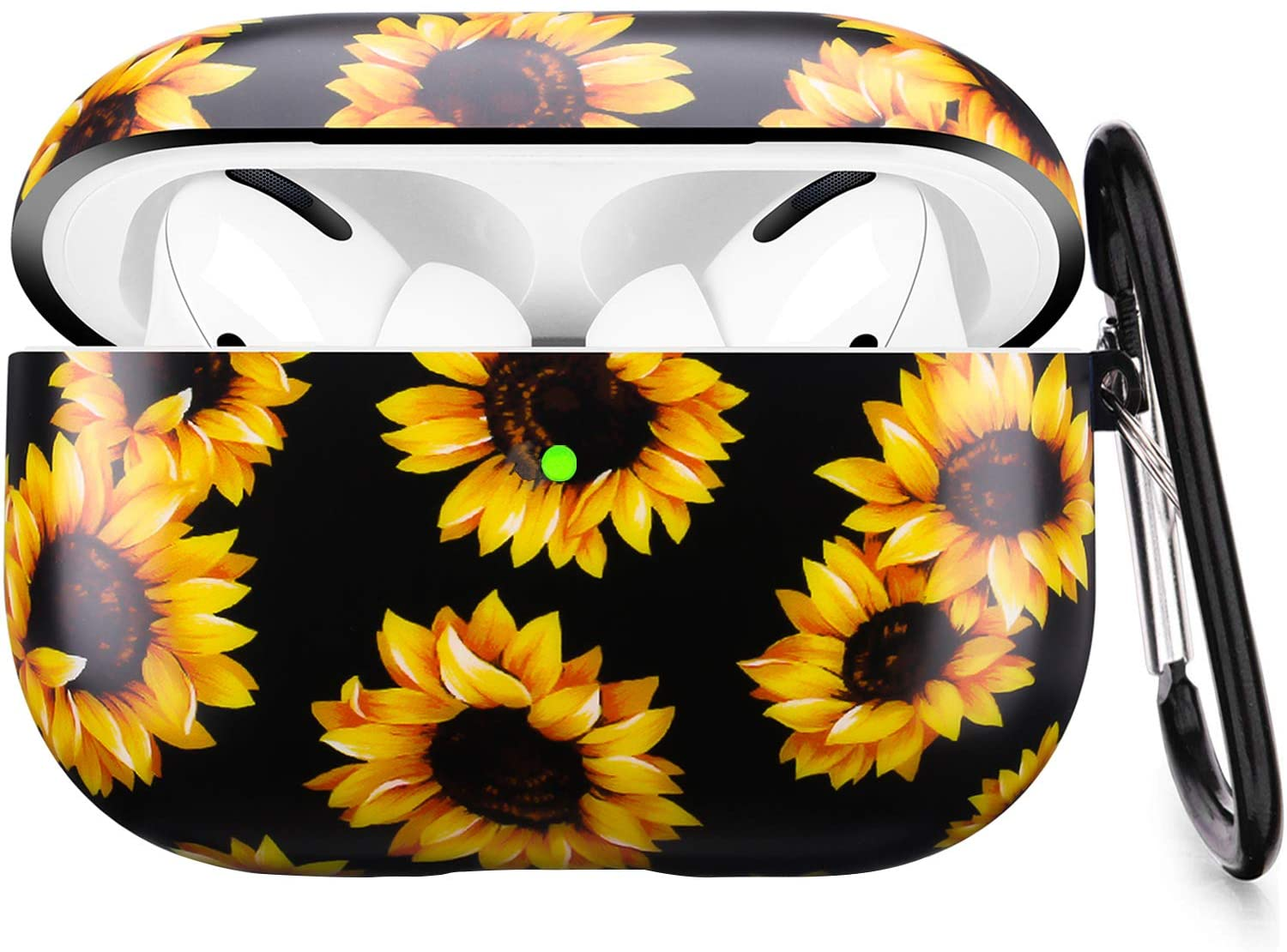 Airpods Pro Case - LitoDream Sunflower Floral Apple Airpods