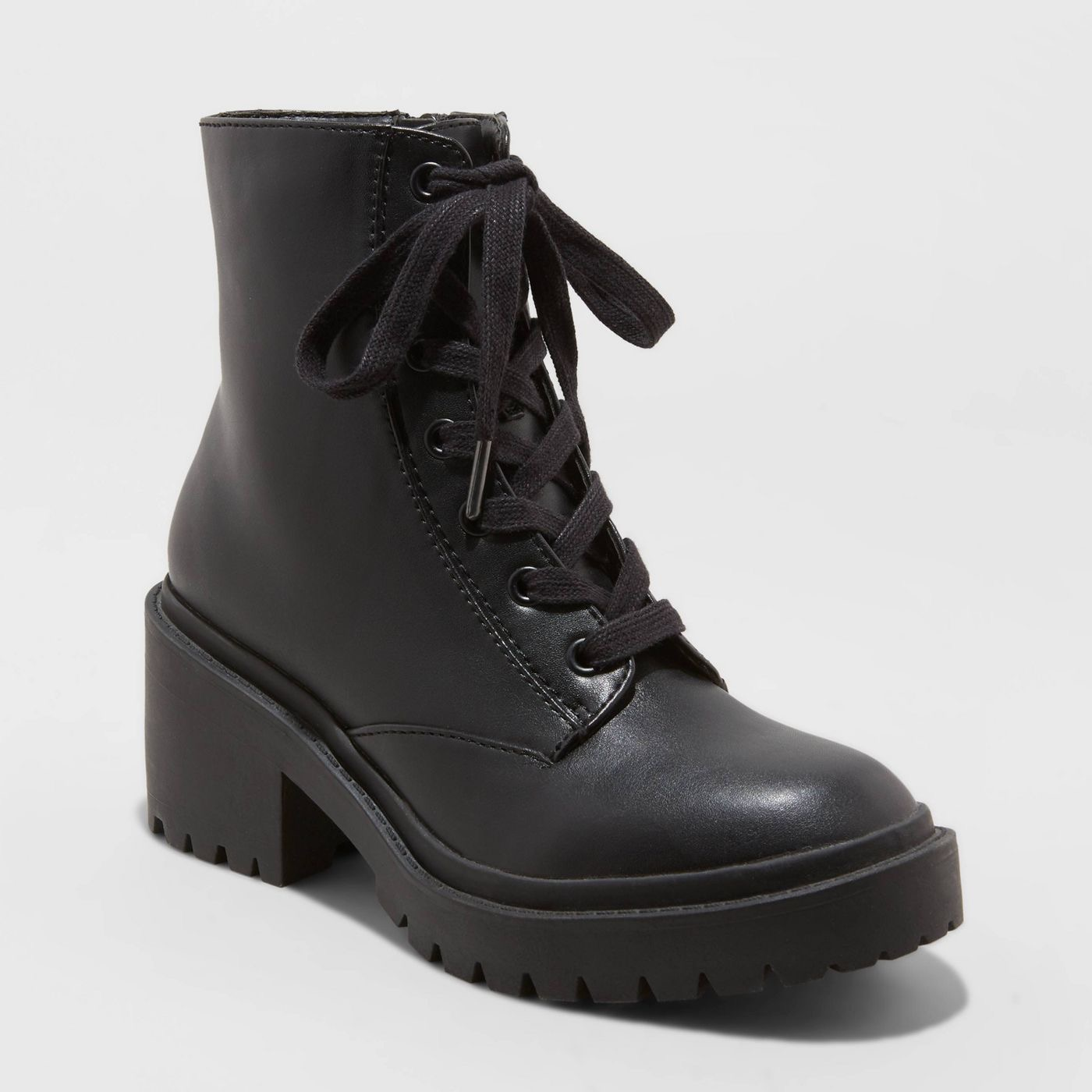 Women's Brie Lace-Up Combat Boots - Universal Thread